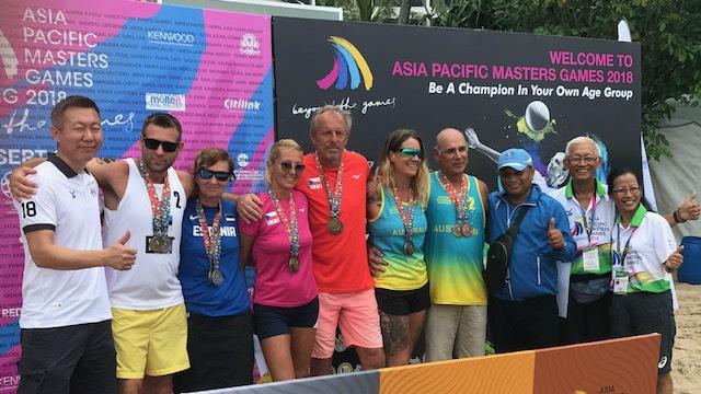 Eesti segapaar võitis Malaisias rahvusvahelisel veteranide võistlusel kulla