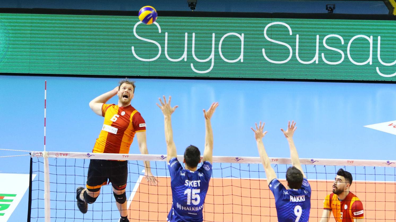 Venno kõrge rünnakuprotsent vedas Galatasaray pronksiseeria avamängus üllatusvõiduni