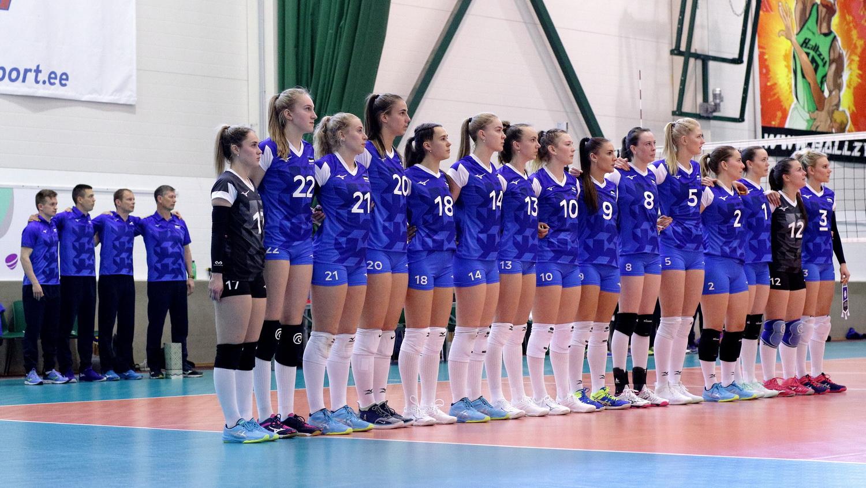 Eesti rahvusnaiskond alustas Hõbeliigat kaotusega