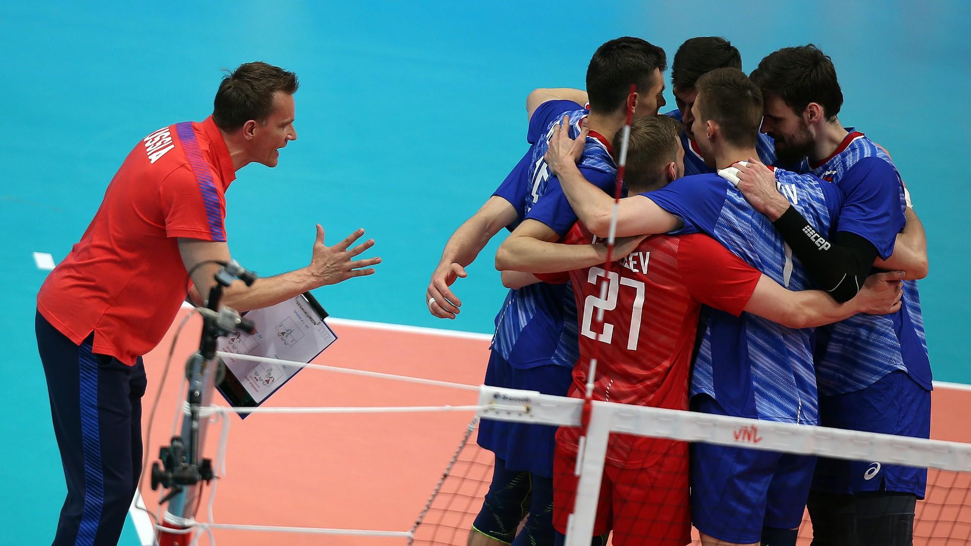 Esimest aastat Venemaa koondist juhendav Sammelvuo tüüris venelased Rahvuste Liigas poolfinaali