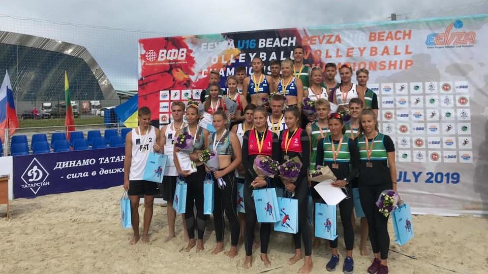 Eesti noored esinesid edukalt Ida-Euroopa meistrivõistlustel