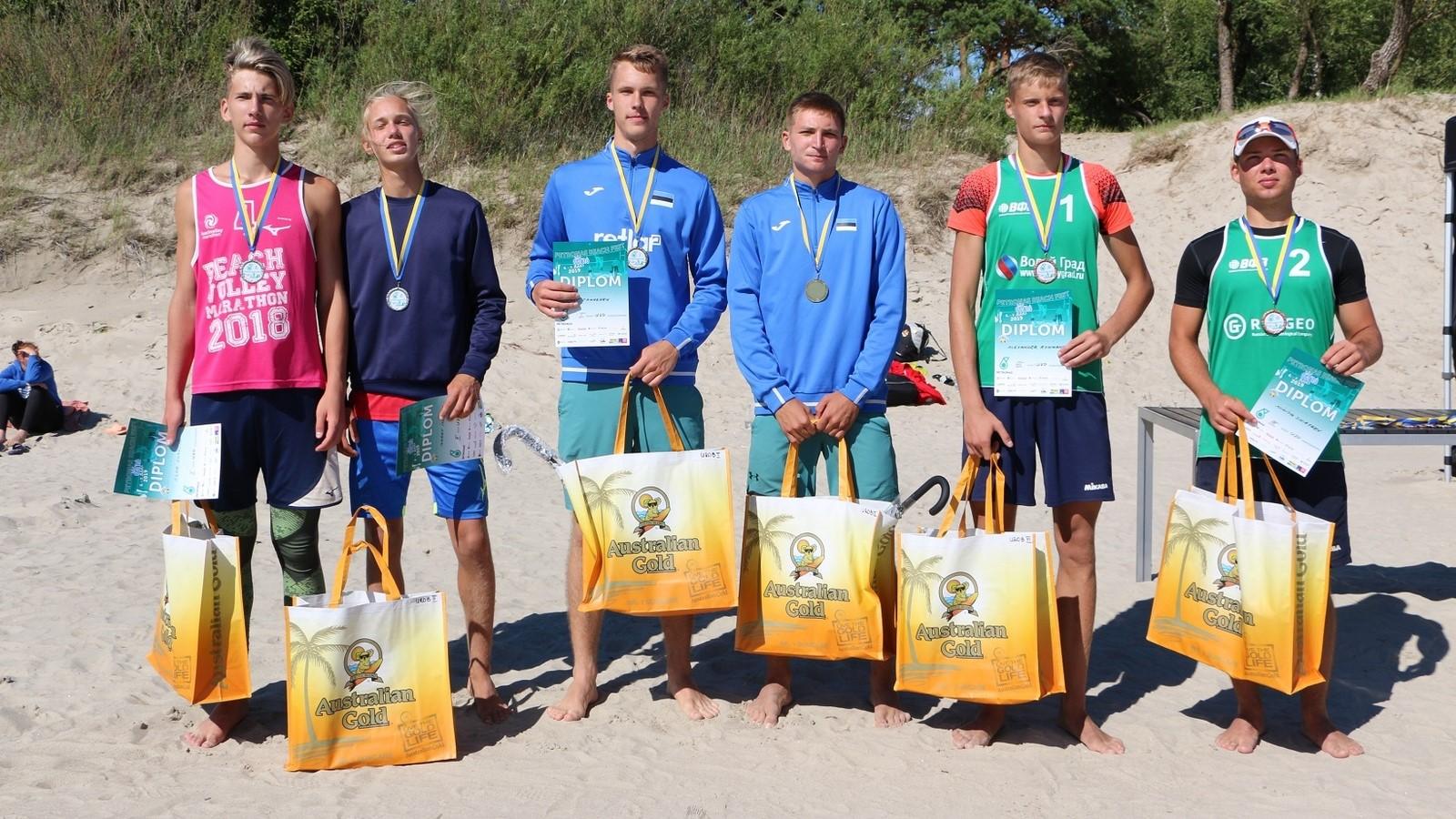 Nädalavahetusel peeti Pärnus Baltikumi suurim rannavollefest noortele