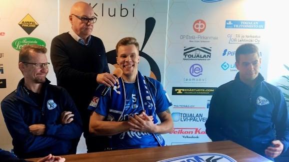 Oliver Lüütsepp tõi Akaasse Soome koondise liidri