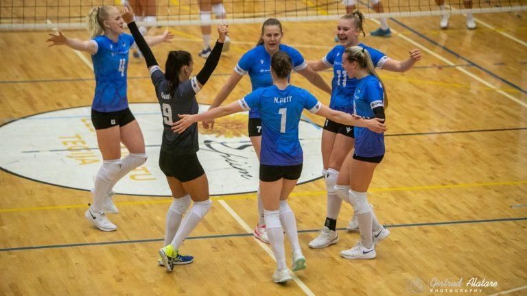 Eesti naiskond võttis uue kapteni juhtimisel taas kindla võidu Läti üle